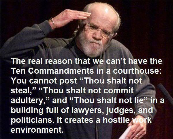 Ten Commandments Quotes: Ten Commandments In The Court House