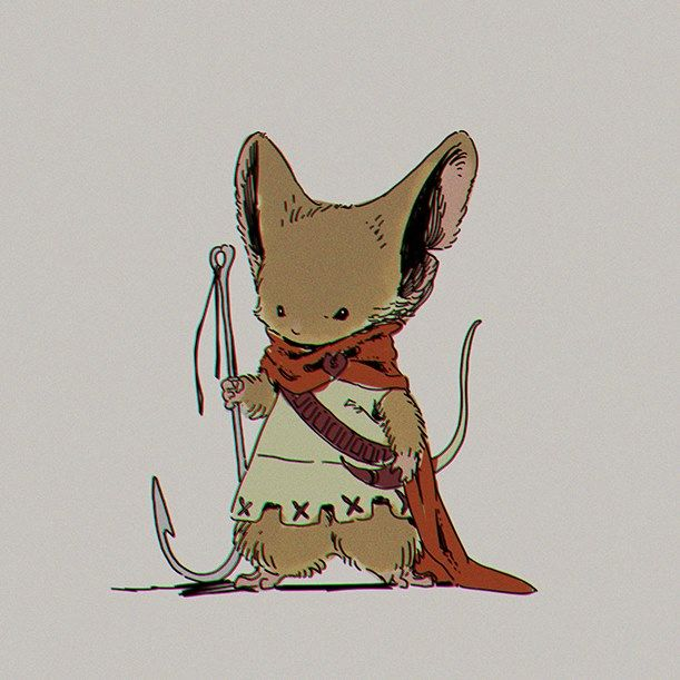 """Mouse Guard"" by Ryota Murayama*   • Blog/Website 
