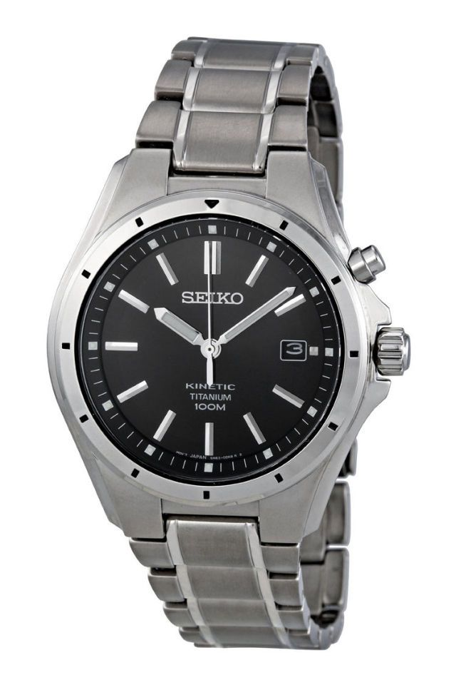 Seiko Kinetic Titanium Watch 155