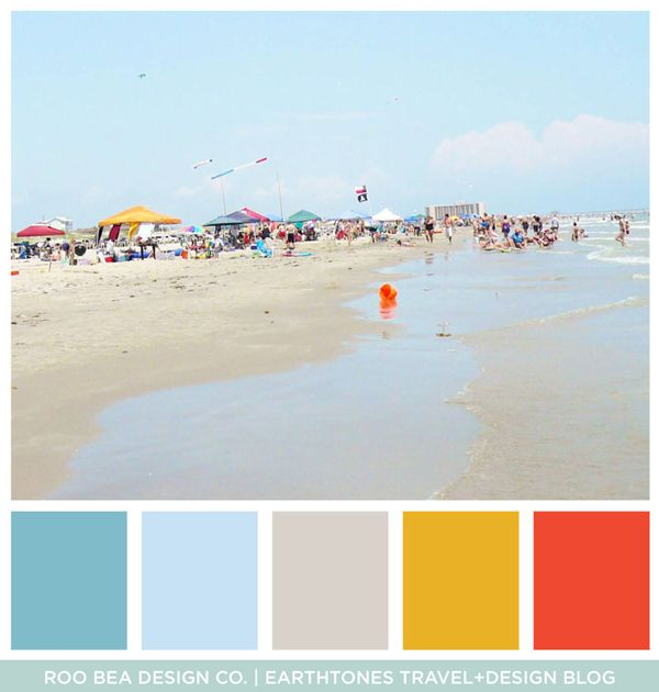 Girls Trip To Port Aransas Texas On Mustang Island Beach Color