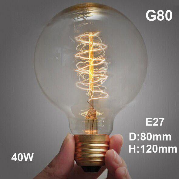 Retro Edison Bulb Filament Led E14 E27 40W Incandescent Bulbs 220V For Decor Antique Pendant Lights For Home Vintage Edison Lamp