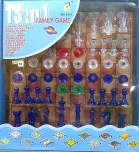 50.000  13 games: snake ladder, train chess, racing game, checkers, football, chess, ludo, dll. Volume 1kg