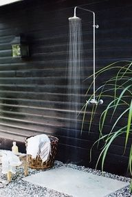 outdoor shower / House  Home home-sweet-home