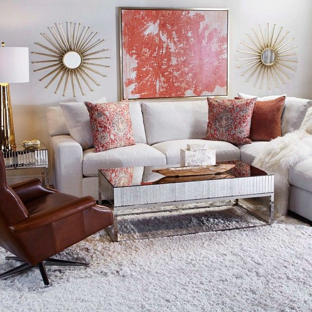 Introducing our NEW Del Mar Sectional deep cushions and plush pillows invite and allow for : z gallerie sectional - Sectionals, Sofas & Couches