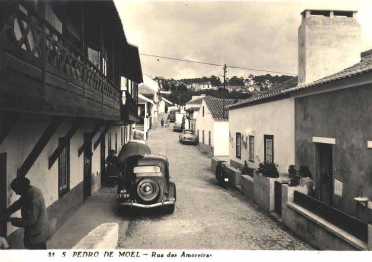 São Pedro de Moel - rua das Amoreiras