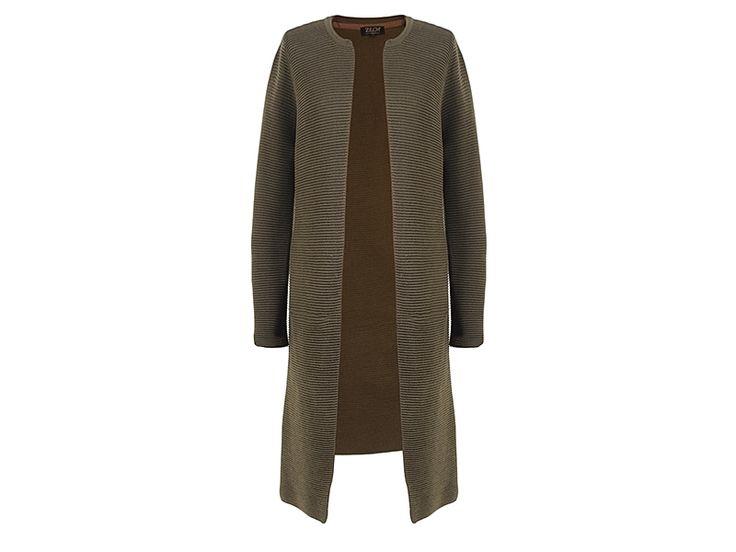 Lekker lang herfst vest van Zilch in een mooie army groen. #zilch #amsterdam #fashion #collection #design #wol #vest #conceptstore #design #weidesign #weidesignandmore #hipshops #hipshopshaarlem #webshop #online