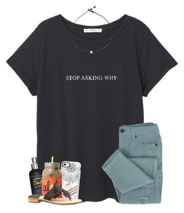 """""""I stopped trying when you stopped caring"""" by oliviajordyn ❤ liked on Polyvore featuring MANGO, Bumble and bumble, Casetify and Jack Rogers"""