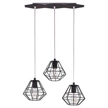 159 zł OBI TK Lighting Lampa wisząca Diamond 3x60 W E27