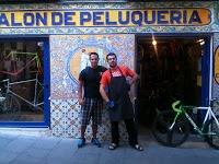 FixiDixi, bicis en la calle Embajadores (Madrid)