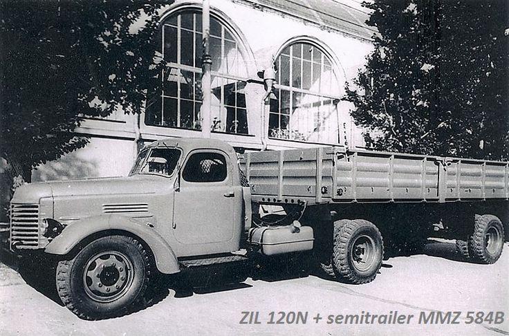 ЗИЛ-120Н + ММЗ-584Б