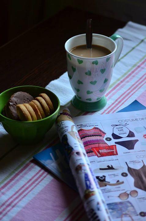 coffee, morning, magazine, breakfast http://chocolatefashioncoffee.blogspot.ro/