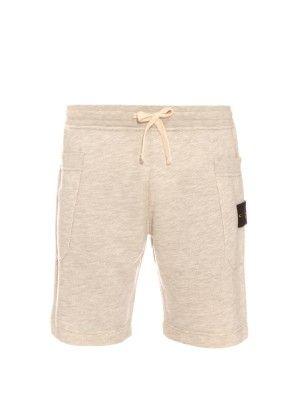 Drawstring cotton-blend piqu� shorts | Stone Island | MATCHESFASHION.COM UK