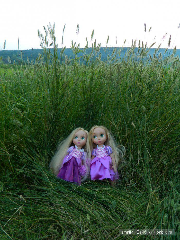 Рапуши на свободе / Умница Алена, Анюта, Принцессы Диснея и другие куклы от Playmates / Бэйбики. Куклы фото. Одежда для кукол