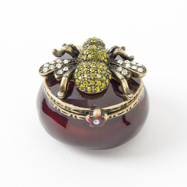 ≗ The Bee's Reverie ≗ Gem Bee Trinket Box