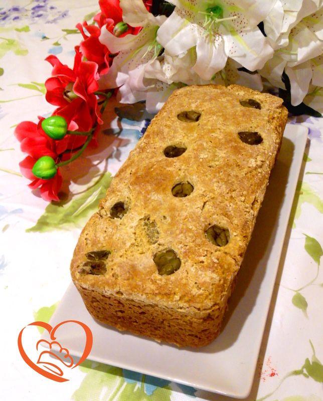 Pan brioche salato con olive