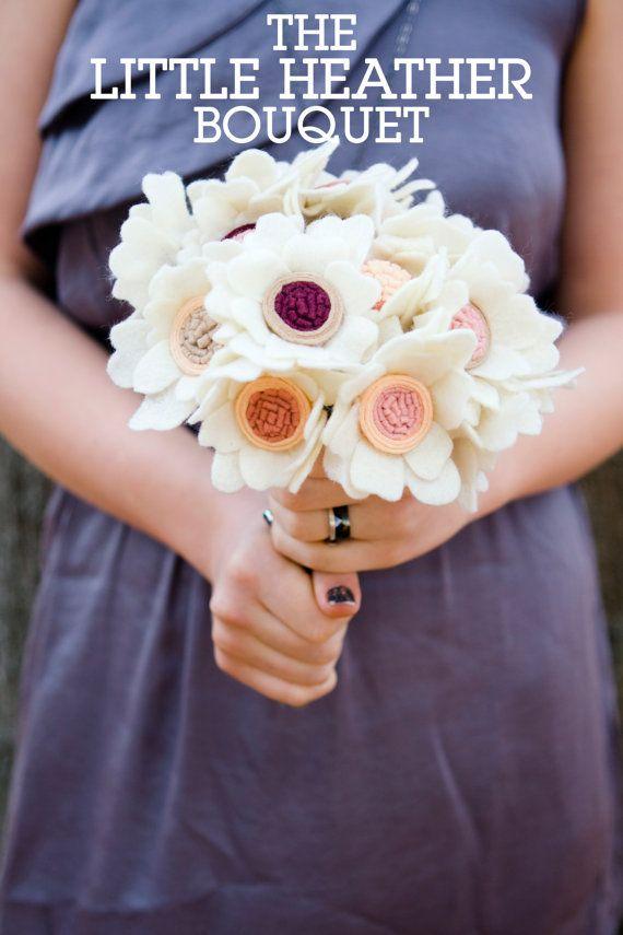 Bouquets alternatifs de Tendances Mariage Etsy
