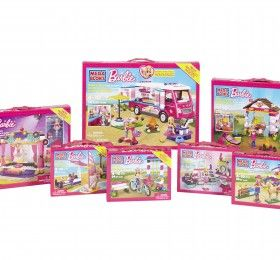 Giveaway: Mega Bloks Barbie Build'n Play Luxe Camper