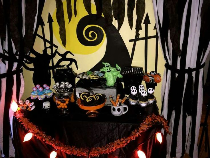 Nightmare Before Christmas Party Ideas Part - 16: 24 Best The Nightmare Before Christmas Party Images On Pinterest | Nightmare  Before Christmas, Halloween Halloween And Halloween Party Ideas