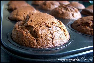 Muffiny piernikowe (gingerbread muffins) - WYPRÓBOWANE