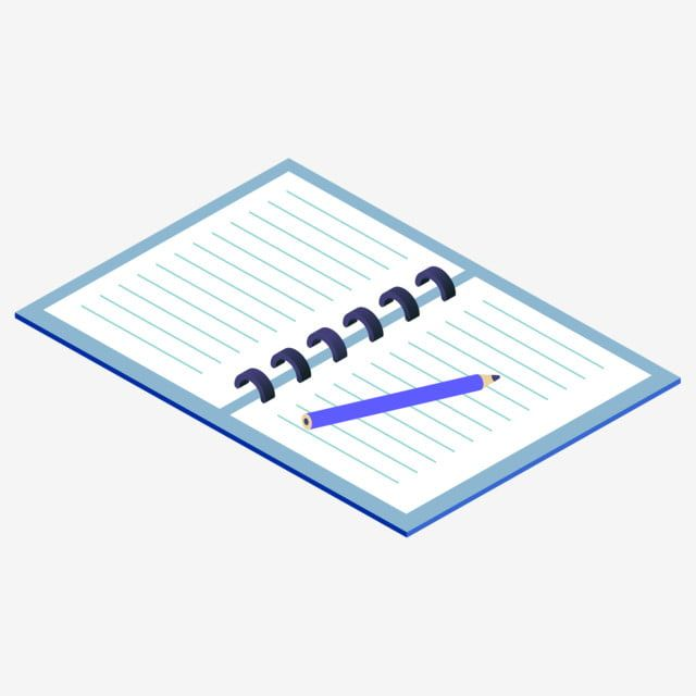 A Cartoon Hand Drawn Book With Recorded Data Put The Pen On The Book Record Data Writing Office Cartoon Book Notebook Data Png Transparent Clipart Image And How To Draw