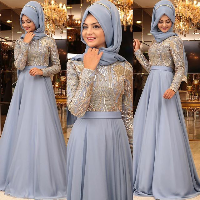 """NEHİR Abiye detaylar. """"Aynı renkleri giymekten sıkıldık ama güzel bir renk bulamıyorum"""" demiştim. İçime bu kadar sinen bir renk bulacağım aklıma gelmemişti. Çok beğendim. #pınarşems #nehirabiye #tesettür #abiye #hijab #hijabi"""
