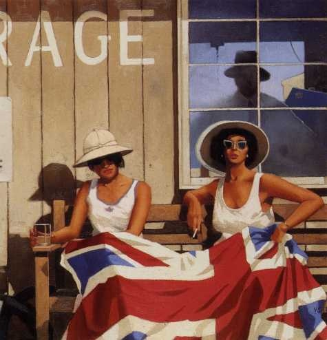 Vettriano, Jack (1951- ) - The British are Coming by RasMarley, via Flickr