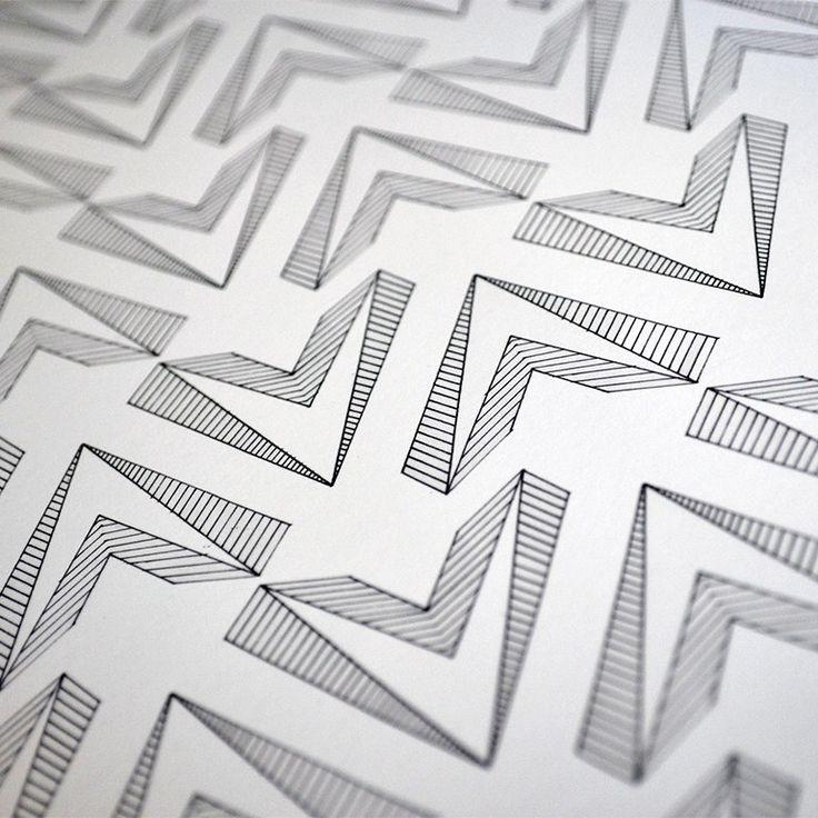 A pattern close-up
