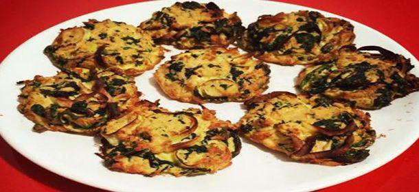 dietní špenátové karbanátky