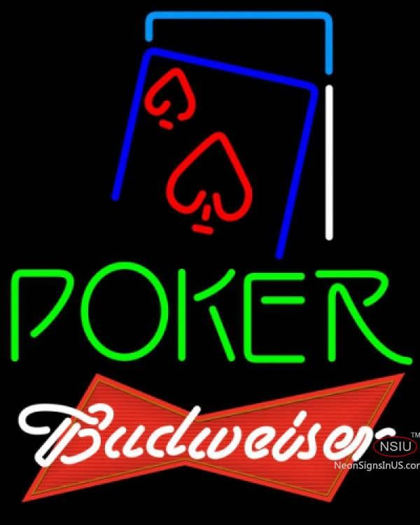Budweiser Red Green Poker Red Heart Real Neon Glass Tube Neon Sign 7,Affordable and durable,Made in USA,if you want to get it ,please click the visit button or go to my website,you can get everything neon from us. based in CA USA, free shipping and 1 year warranty , 24/7 service