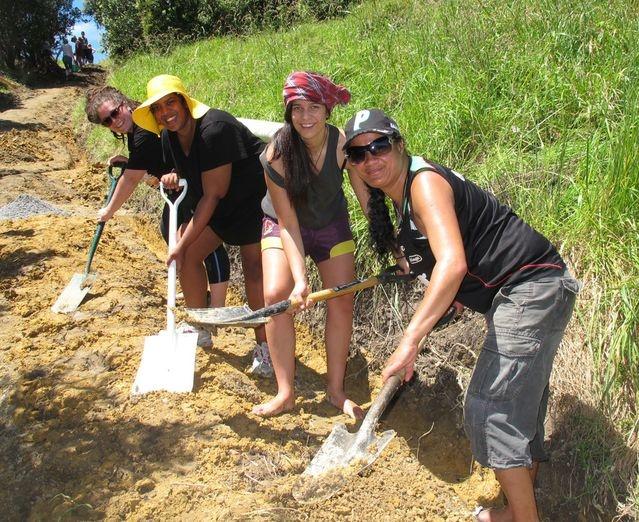 Big effort to upgrade Rainbow Warrior monument track | Northern Advocate