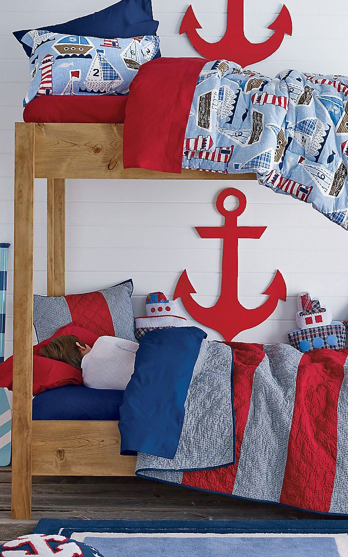 Nautical boys bedroom design