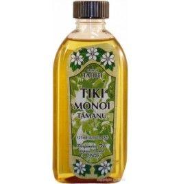 Ulei Monoi Tiare Tahiti original cu ulei de Tamanu 120 ml