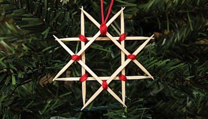 25 Easy Diy Scandinavian Christmas Ornaments Ohoh Deco Scandinavian Christmas Ornaments Christmas Ornaments Star Ornament