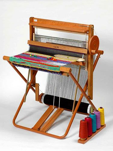 Saori Weaving loom