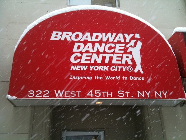 Broadway Dance Center. NYC.