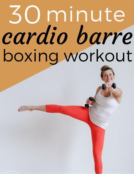 Boxing cardio barre workouts For Women Upto 30 Minutes. – Medi Idea