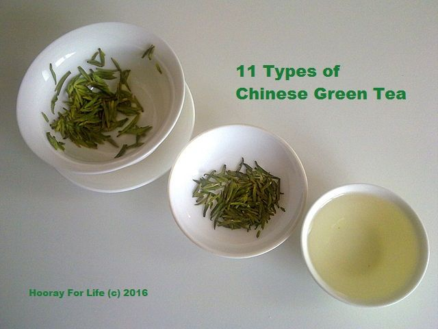 Know about 11 different types of Chinese green teas, their characteristic flavor, texture and health benefits.