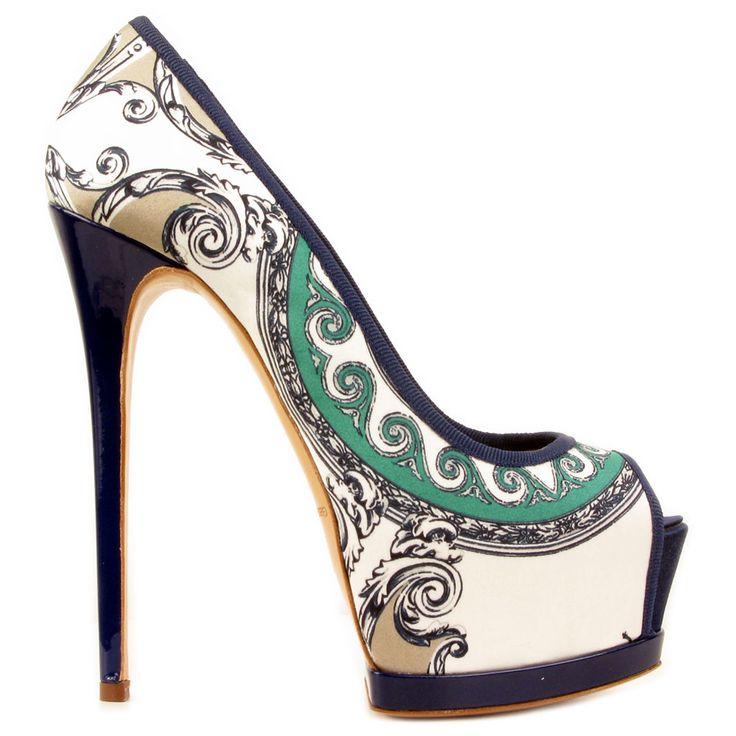 Mercedeh Shoes - Catalogue : Women > Shoes > Pumps : 327 GROS GRAIN