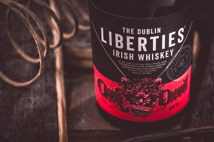 The Dublin Liberties Oak Devil Blended Irish Whiskey