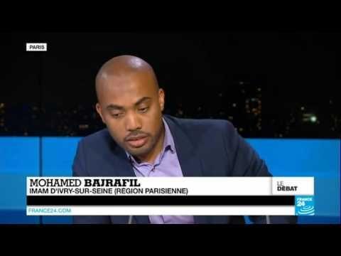 """""""À l'affirmation de l'imam Mohamed Bajrafil """"La France applique la charia plus que les pays musulmans"""": la journaliste réplique..""""on lapide pas en France""""...il répond ..la charia ne veut pas dire lapider , il y 5 objectifs,c'est -le droit de croire ou de ne pas croire,-le droit à la vie,-le droit à la propriété privée,-le droit à être intelligent,-le droit à la succession de l'espèce... ces 5 objectifs sont la Charia : """"La France applique la charia plus que les pays musulmans"""" - YouTube"""