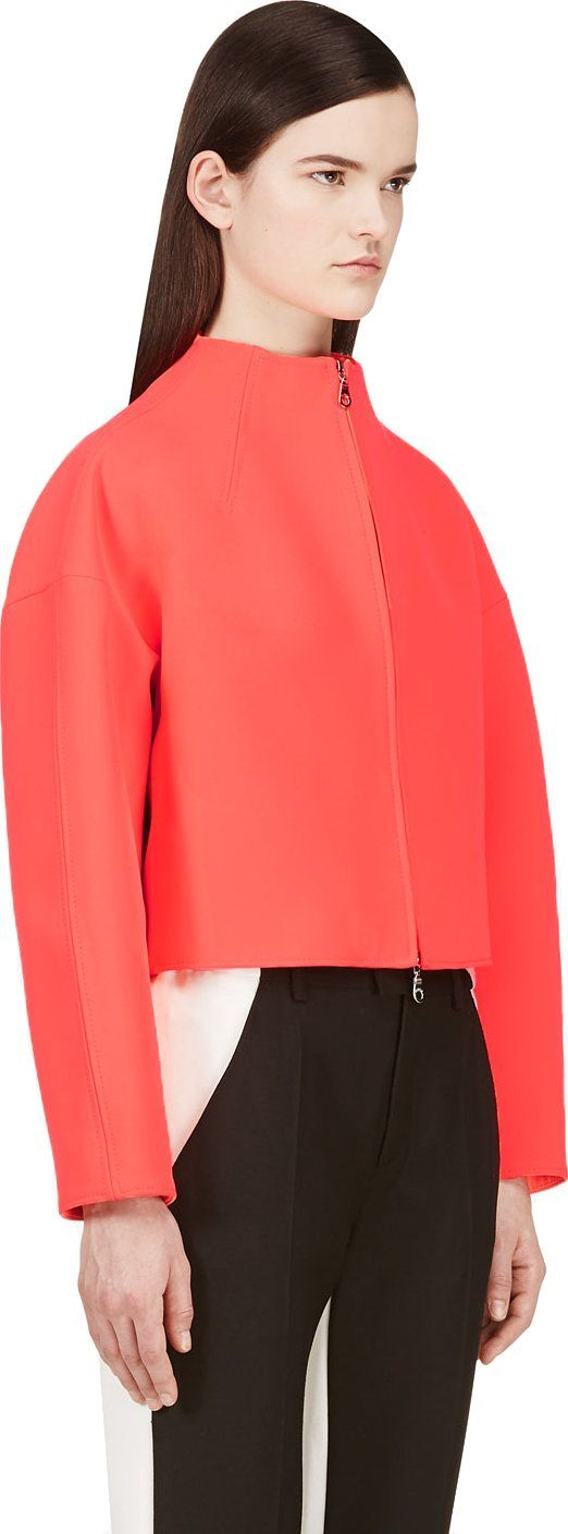 Kenzo - Coral Neoprene Jacket | SSENSE