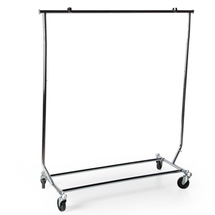 Heavy Duty 250 lb. Capacity Collapsible Steel Rolling Rack - 666741