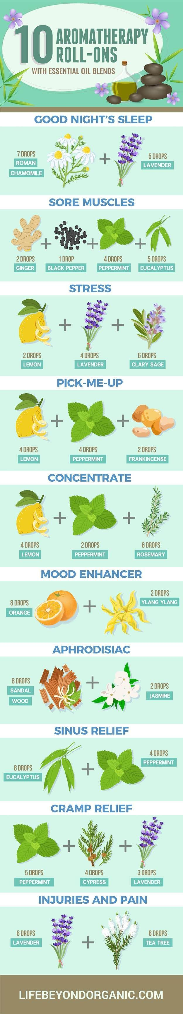 There are many different uses when it comes to essential oils and their aromatherapy advantages. The ones mentioned above are simply my top 10 favorites. Try starting with these for now. Once you've found how useful essential oils can be, don't forget to keep coming back to our page to read up on the other ways you can benefit!