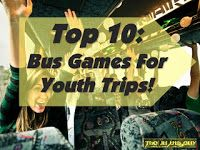 The Middle Years : Ten Bus Games for Summer Youth Trips (summer help)...