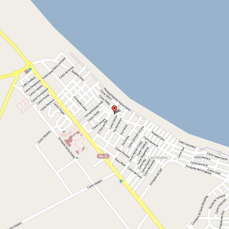 Hotels Mallorca Can Picafort Karte