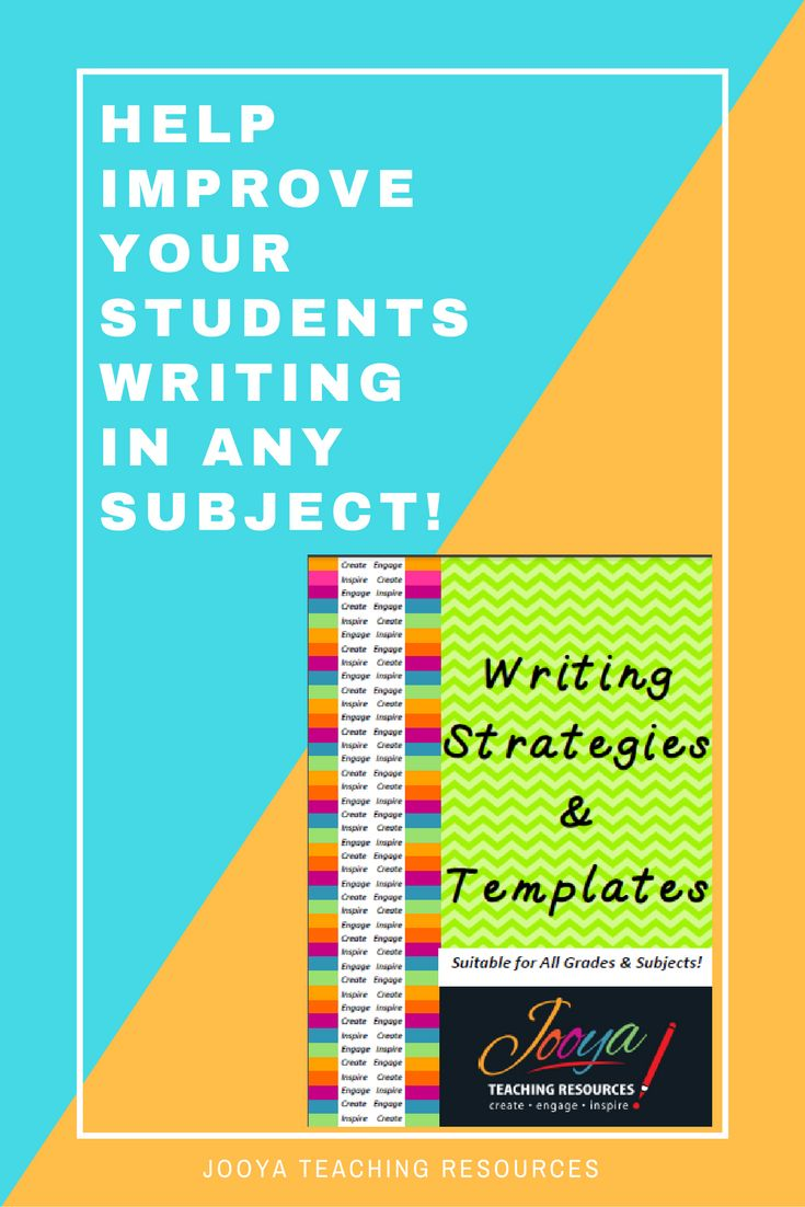 writing strategies and templates for improving paragraph and essay writing skills in the middle school and - Strategies For Essay Writing