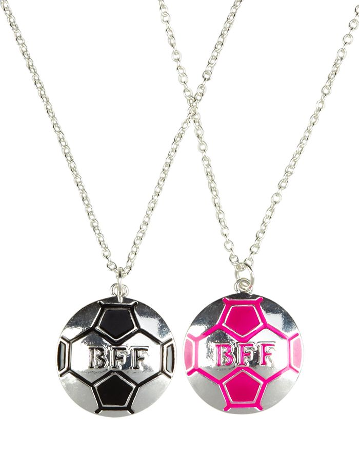 BFF Soccer Ball Necklaces | Necklaces | Jewelry | Shop Justice