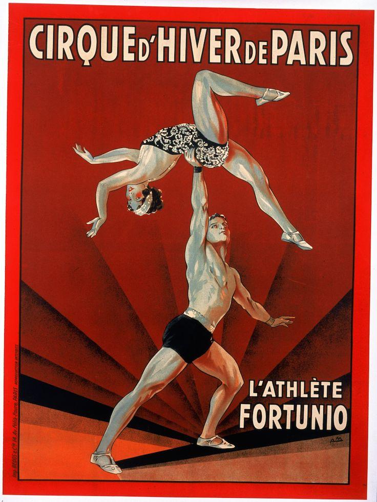 L'athlète Fortunio - 1920's   © Cirque d'Hiver Bouglione  Réservez vos places pour la Tournée : http://www.cirquedhiver.com/reservations/