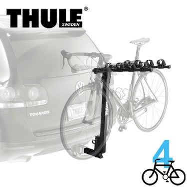 Thule 957 - Parkway - 4 Bike Hitch Rack - For 1-1/4 Inch