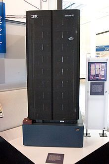 Deep Blue, the chess-playing supercomputer that beat grand master Garry Kaparov in 1997.